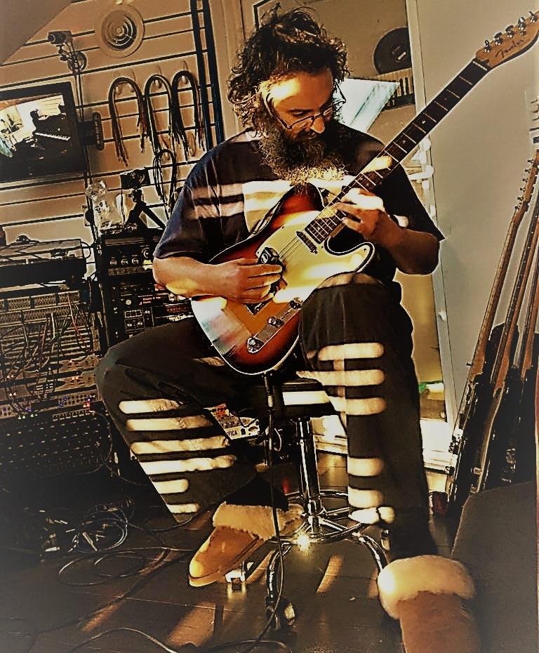 Andy at Ellamy Studios